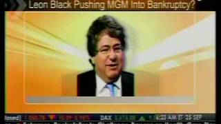 Leon Black Pushes MGM Into Bankruptcy?