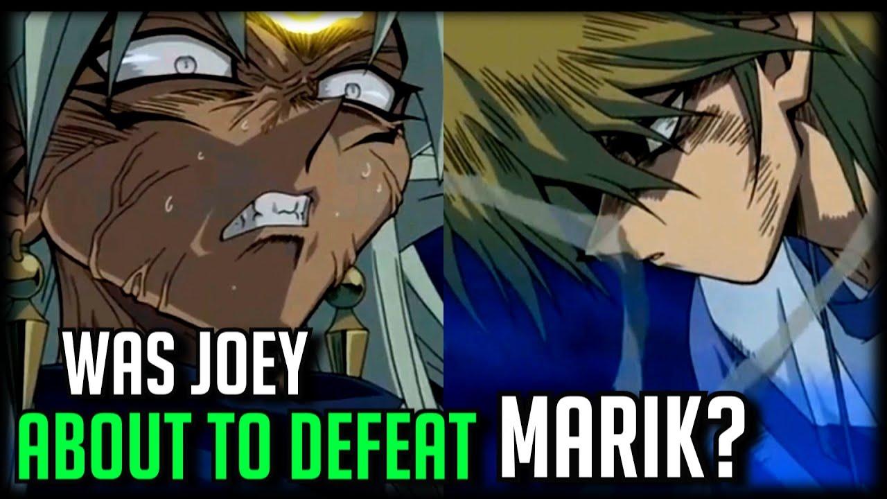 Was Joey About To Defeat Marik? [Joey Wheeler Vs Yami Marik]