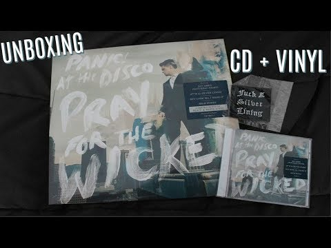 """Panic! At The Disco: """"Pray For The Wicked"""" LIMITED EDITION Vinyl & CD UNBOXING 