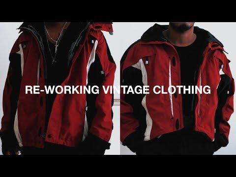 Re-Working Vintage Clothing (DIY)