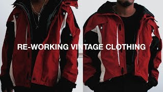 Re-Working Vintage Clothing (DIY)