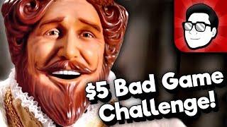 $5 Bad Game Challenge feat. Minus World! (Nathaniel Bandy, Charriii5, TetraBitGaming) | Nintendrew