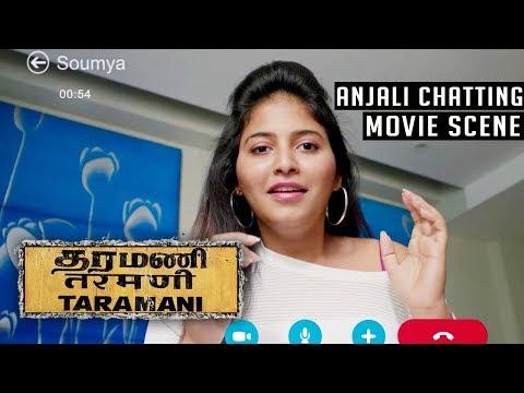 Taramani - Anjali Scene   Andrea Jeremiah   Vasanth Ravi   Yuvan Shankar Raja