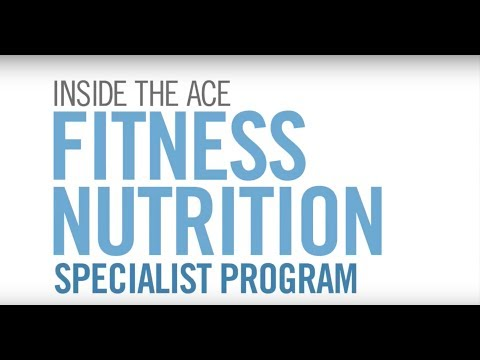 Fitness Nutrition Specialist Program