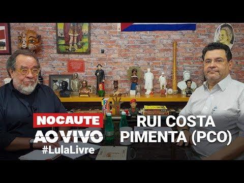 #LULALIVRE: FERNANDO MORAIS ENTREVISTA RUI COSTA PIMENTA
