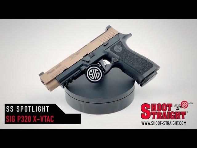 Sig Sauer P320 X-VTAC - Shoot Straight Spotlight