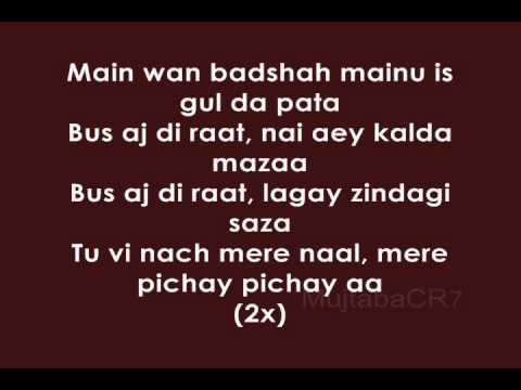 Billy-X - Baadshah (Lyrics)