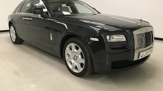 For sale - Rolls Royce Ghost - 2010 - Rear Theatre  - Panoramic Roof - Nick Whale Sports Cars