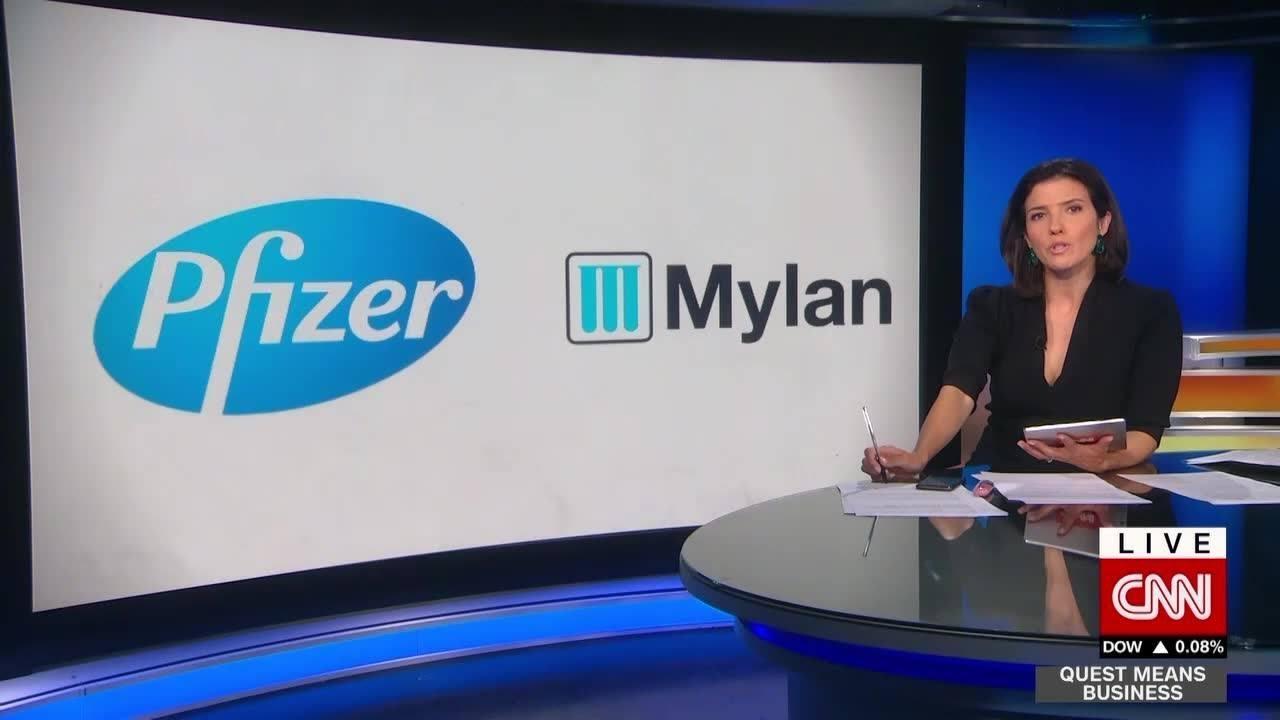 Pfizer, Mylan form $20-billion-a-year drugmaker