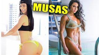 TOP 5 MUSAS FITNESS BRASILEIRAS
