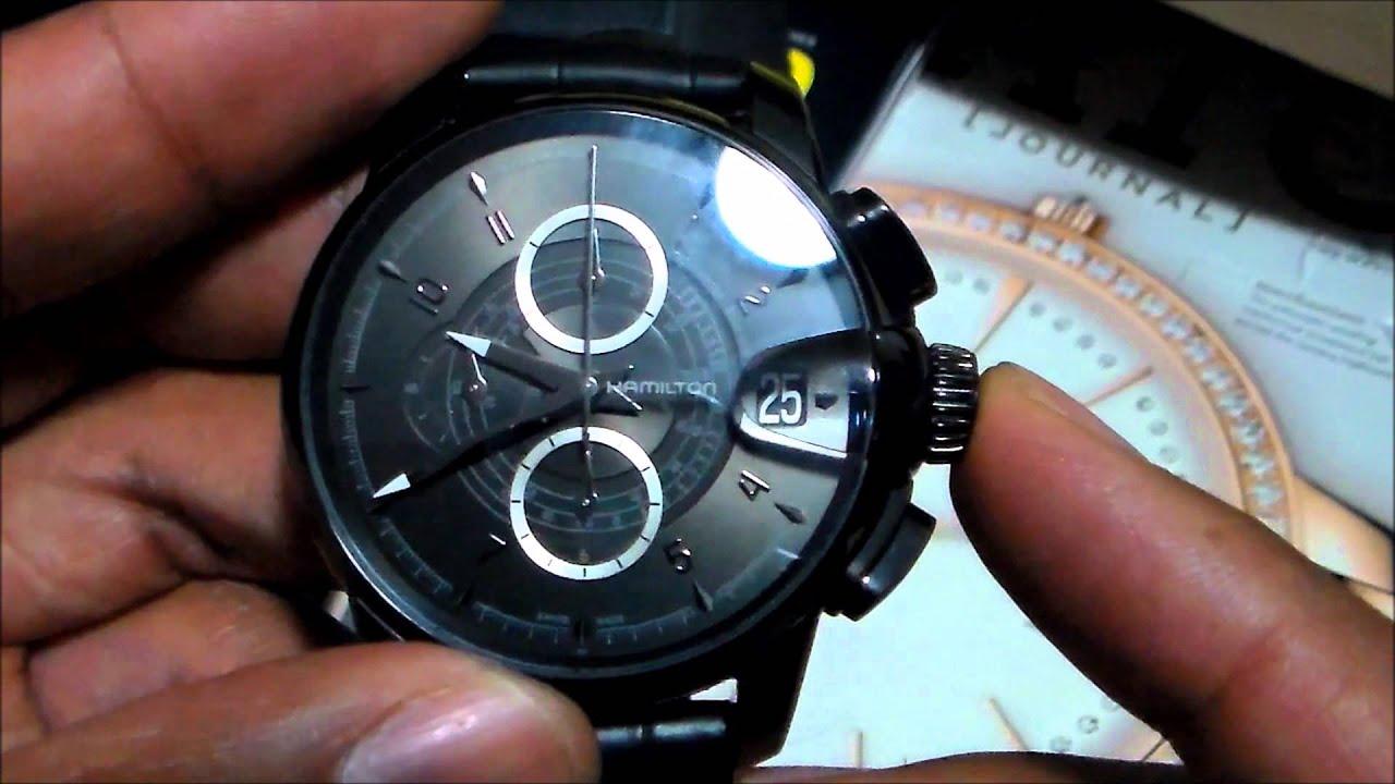 Hamilton railroad american classic chronograph watch for American classic