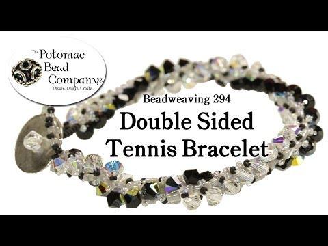 Make a Double Sided Tennis Bracelet (Beadweaving 284)