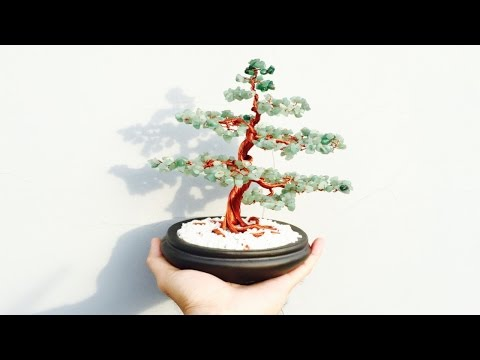[Bonsai Handmade]How To Make a Bonsai Tree With Copper Wire