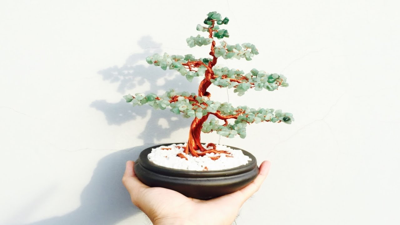 bonsai handmade how to make a bonsai tree with copper wire youtube rh youtube com Bonsai Copper Wire Bonsai Wire Sizes