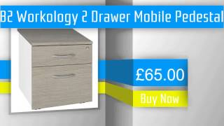 B2 Workology 2 Drawer Mobile Pedestal