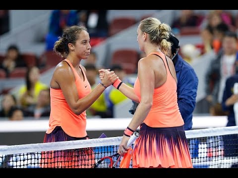 2016 China Open Quarterfinal | Madison Keys vs Petra Kvitova | WTA Highlights