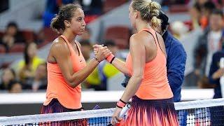 2016 China Open Quarterfinal   Madison Keys vs Petra Kvitova   WTA Highlights