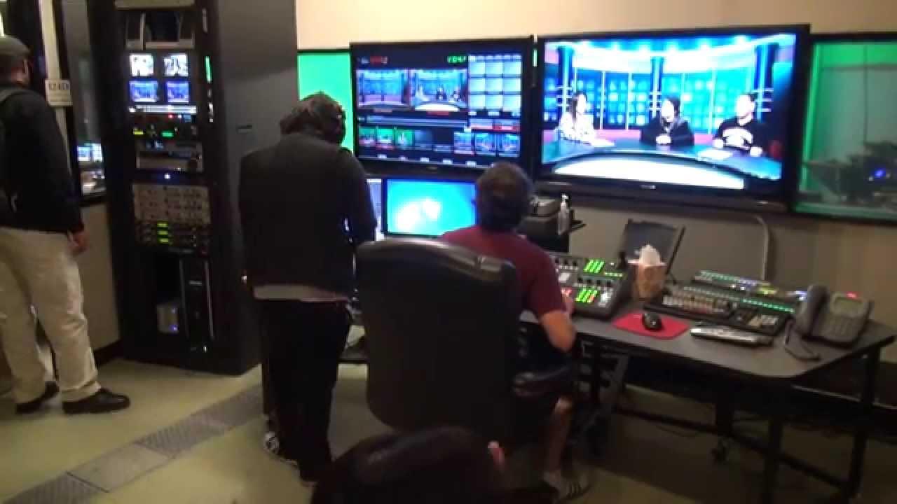 Tv studio furniture Simple Tv Inside The Chabot College Tv Studio Home Design Inside The Chabot College Tv Studio Youtube