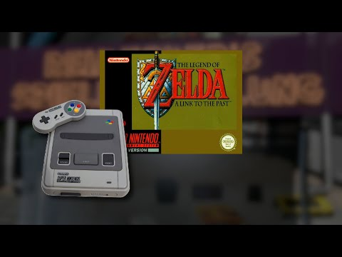 Gameplay : The Legend of Zelda A Link to the Past [SNES]