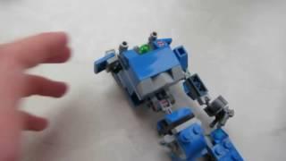 как сделать из лего робота по имени чаппи