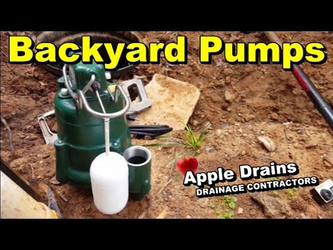 How To Replace Backyard Sump Pump - YouTube