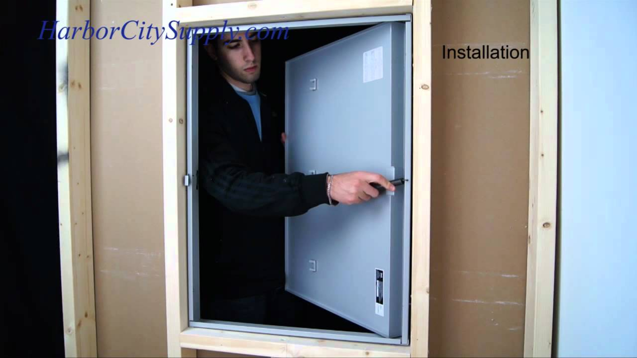 Cendrex Fire Rated Access Door Youtube