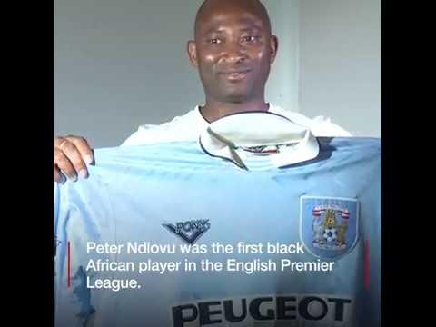Former Zimbabwe footballer Peter Ndlovu  talks to BBC