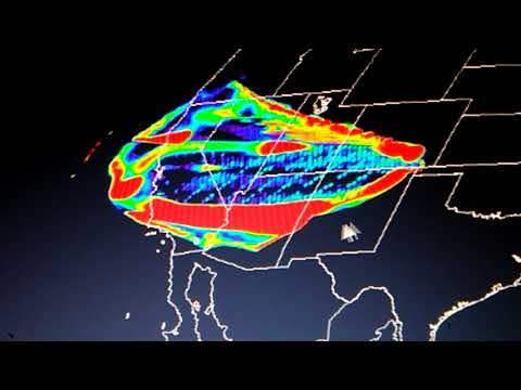 Burst 4.6.18 over pacific plate...