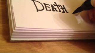 Drawing: Death Note Title Logo