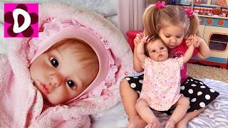 КУПИЛИ РЕБЕНКА!!! Живая Кукла Реборн Диана Мама для Reborn Baby Doll Видео для Детей Куклы Reborn