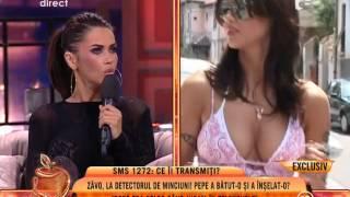 """Oana Zăvoranu: """"Pepe mi-a dat două palme de mi-a sucit gâtul!"""""""