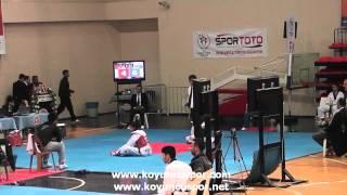 49kg Quarterfinal Seda Kocak vs Cilem Sarıoglu 2014 Turkish Senyor TKD Chion
