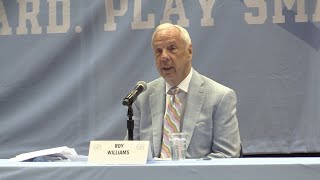 Roy Williams Retirement Press Conference