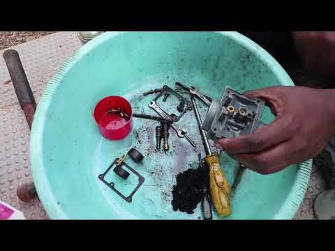 How to clean and fix a leaky RX 100 carb