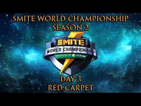 Smite World Championship 2016 Day 3 - Red Carpet