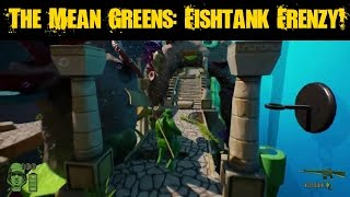 The Mean Greens Plastic Warfare: Fishtank Frenzy