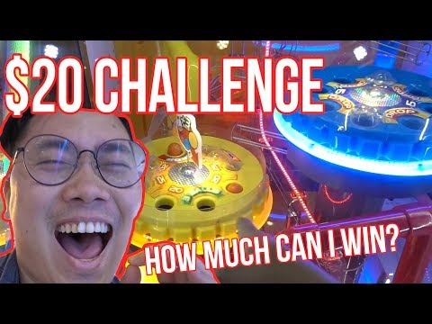 $20 TICKET CHALLENGE! - Arcade Ninja