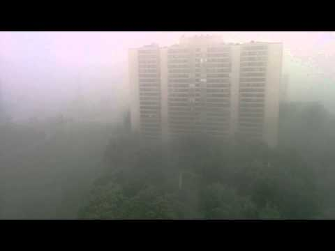 Suddenly rain - in North York. May 30th, 2015