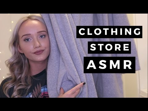ASMR Clothing Store Personal Shopper (For Relaxation And Sleep) | GwenGwiz