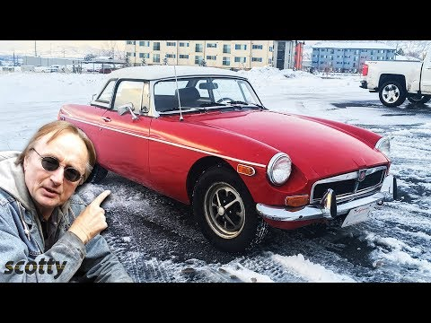 Mobil Sport Inggris Klasik - 1973 MGB Pemulihan