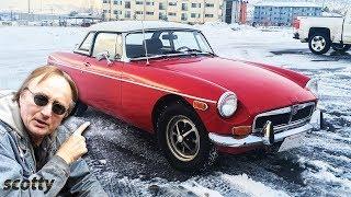 Classic British Sports Car - 1973 Mgb Restoration