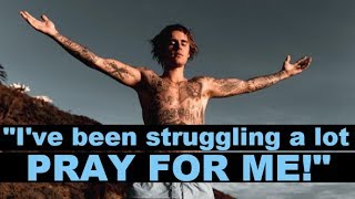 Justin Bieber Has Fans Alarmed As He Asks For Prayers With Marriage In Limbo