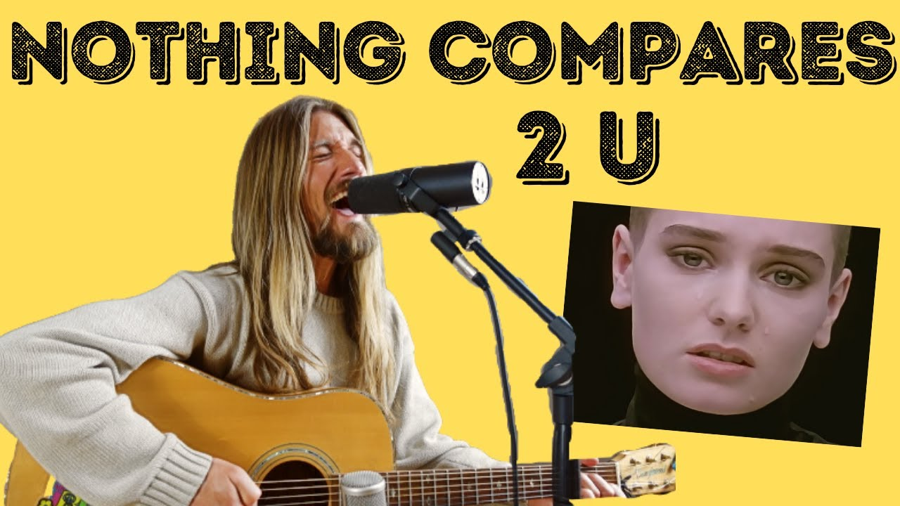 Acoustic Cover Of Nothing Compares 2 U Sinead O Connor Youtube