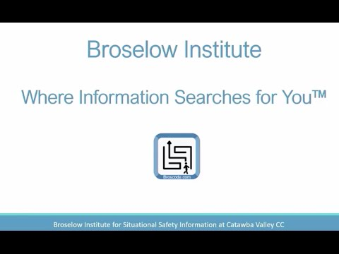 Broselow Institute at Catawba Valley Community College