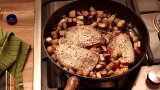Pear & Apple Pork Chops