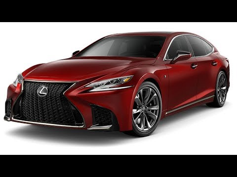 2018 Lexus Ls Colors Youtube