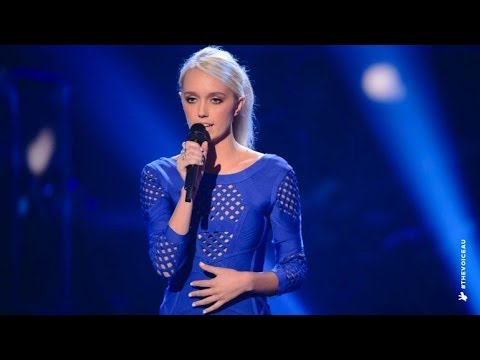 LauraLeigh Smith sings The Voice Within  The Voice Australia 2014