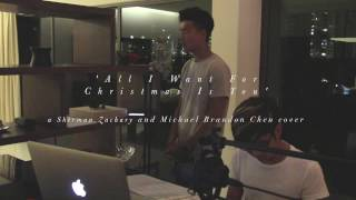 All I Want For Christmas - Michael Bublé (Cover by Sherman Zachary & Michael Brandon Chen)