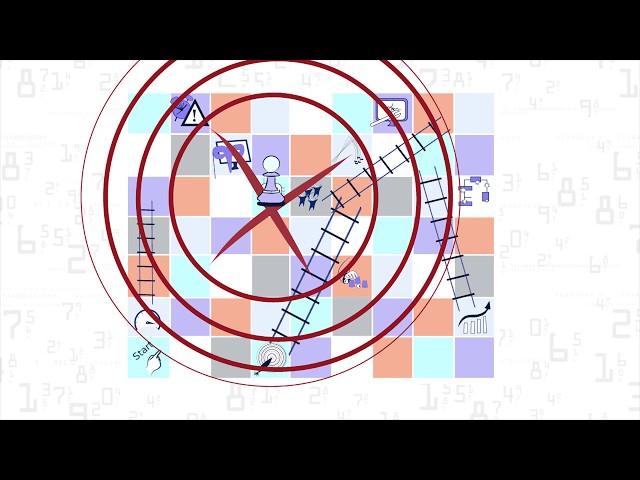 'Chutes and Ladders' do sistema de sorteio eletrônico (versão portuguesa) por Szrek2Solutions