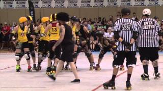 Roller Derby All Star Game - RollerCon 2014